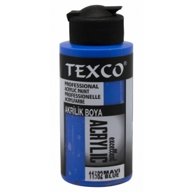 Texco Akrilik 110cc Boya 11582 - MAVİ
