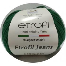 Etrofil Jeans Amigurumi El Örgü İpi 50gr - PETROL YEŞİL