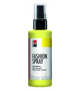 Marabu Fashion Sprey Kumaş Boyası 100 ml. LİMON SARI