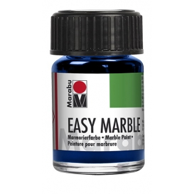 Marabu easy marble 055 Dark Ultramarine 15ml