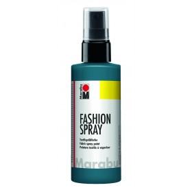 Marabu Fashion Sprey Kumaş Boyası 100 ml. PETROL MAVİ