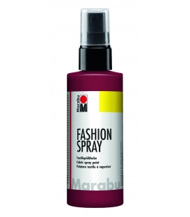 Marabu Fashion Sprey Kumaş Boyası 100 ml. BORDO
