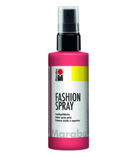 Marabu Fashion Sprey Kumaş Boyası 100 ml. FLAMİNGO