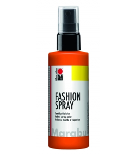 Marabu Fashion Sprey Kumaş Boyası 100 ml. KIRMIZI ORANGE