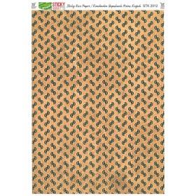 Kendinden Yapışkanlı Sticky Pirinç Kağıdı STK-2012