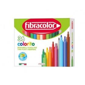 Fibracolor Colorito Keçeli Boya Kalemi 36 Renk