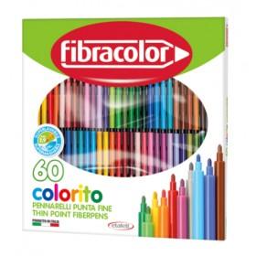 Fibracolor Colorito Keçeli Boya Kalemi 60 Renk