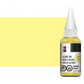 Marabu Alcholol ink 20ml - LEMON