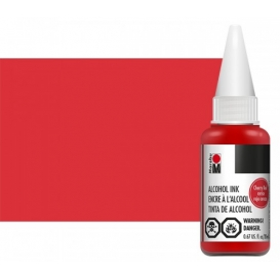 Marabu Alcholol ink 20ml - CHERRY RED