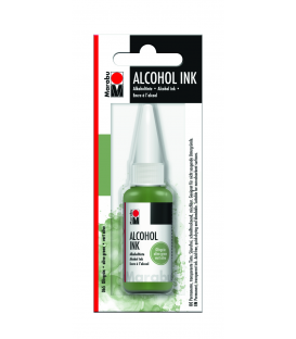 Marabu Alcholol ink 20ml - OLIVE GREEN