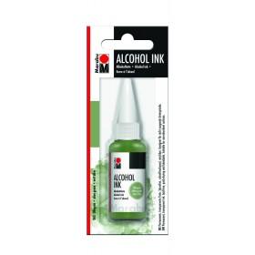 Marabu Alcholol ink 20ml - OLIVE GREEN