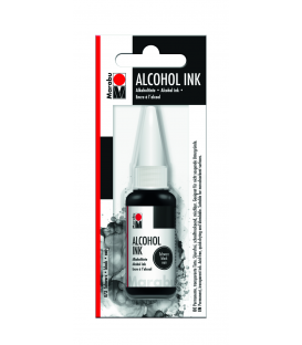 Marabu Alcholol ink 20ml - BLACK