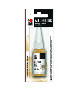 Marabu Alcholol ink 20ml - METALLIC GOLD