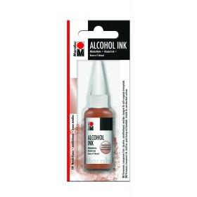 Marabu Alcholol ink 20ml - METALLIC BRONZE