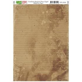 Kendinden Yapışkanlı Sticky Pirinç Kağıdı STK-2533