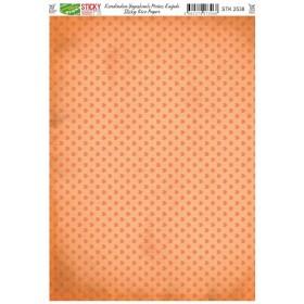 Kendinden Yapışkanlı Sticky Pirinç Kağıdı STK-2538