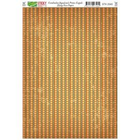 Kendinden Yapışkanlı Sticky Pirinç Kağıdı STK-2540