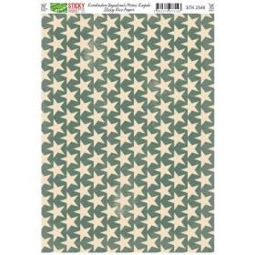 Kendinden Yapışkanlı Sticky Pirinç Kağıdı STK-2546