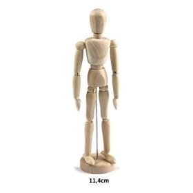 Ahşap Model Mankeni İnsan 11,4cm