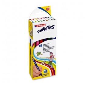 Edding Funtastics İnce Uçlu Keçeli Kalem Seti 18 Renk