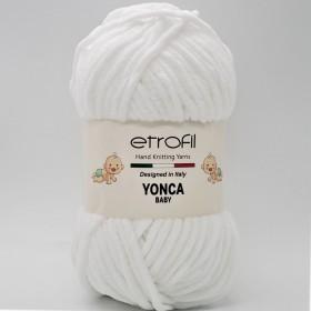 Etrofil Yonca Baby Kadife Yün 70136 BEYAZ