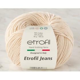 Etrofil Jeans Amigurumi El Örgü İpi 50gr - BEJ