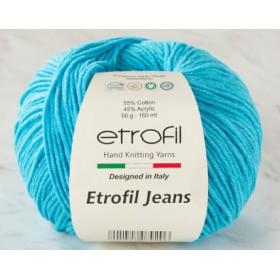 Etrofil Jeans Amigurumi El Örgü İpi 50gr - 021 AÇIK TURKUAZ