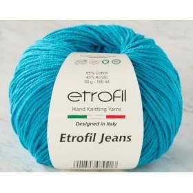 Etrofil Jeans Amigurumi El Örgü İpi 50gr - 022 TURKUAZ