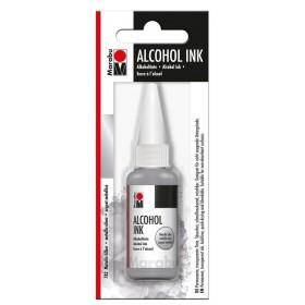 Marabu Alcholol ink 20ml - METALLIC SILVER