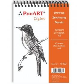 PonART Drawing&Painting Blok 130 gr A5 30 yaprak