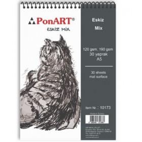 PonART Eskiz Mix A5 30 Yaprak
