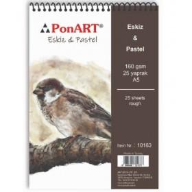 PonART Pastel Eskiz A5 25 Yaprak