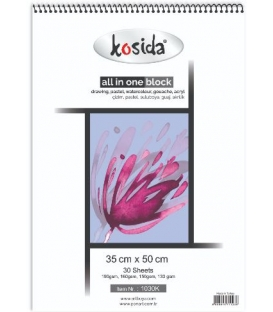 Kosida All In One Block 35x50cm 130,150,160,190gsm 30 yaprak