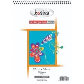 Kosida Kindergarden resim defteri 25x35, 25 yaprak