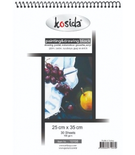 Kosida Painting&Drawing Block 25x35cm 190gsm 30 yaprak