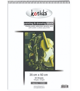 Kosida Painting&Drawing Block 35x50cm 130,190gsm 30 yaprak