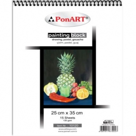 PonART Drawing&Painting Blok 130 gr 25x35 cm 15 Yaprak
