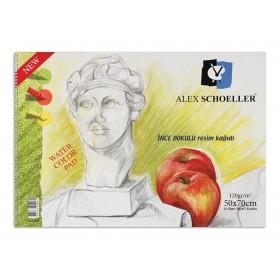 Alex Schoeller Kolej Resim Defteri 120 gr. 20 Yaprak 50x70 cm