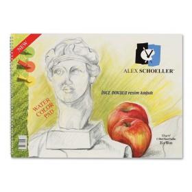 Alex Schoeller Kolej Resim Defteri 120 gr. 15 Yaprak 35x50 cm