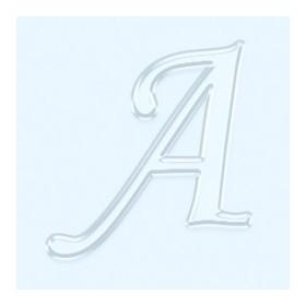 Pleksi 4cm Ayna Görünüm Harf A