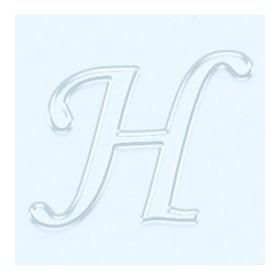 Pleksi Ayna Görünüm 4cm Harf H
