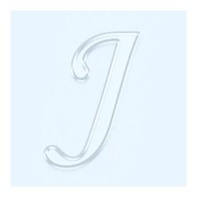 Pleksi Ayna Görünüm 4cm Harf J