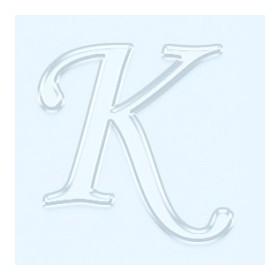 Pleksi Ayna Görünüm 4cm Harf K