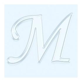 Pleksi Ayna Görünüm 4cm Harf M