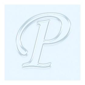 Pleksi Ayna Görünüm 4cm Harf P
