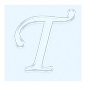 Pleksi Ayna Görünüm 4cm Harf T