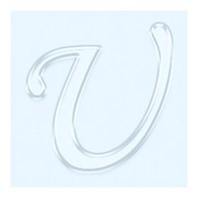 Pleksi Ayna Görünüm 4cm Harf U