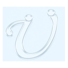 Pleksi Ayna Görünüm 4cm Harf Ü