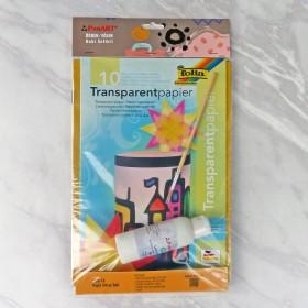 PonART Kağıt Vitray Seti