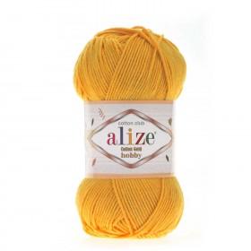 Alize Cotton Gold Hobby Amigurumi El Örgü İpi 50gr - Safran
